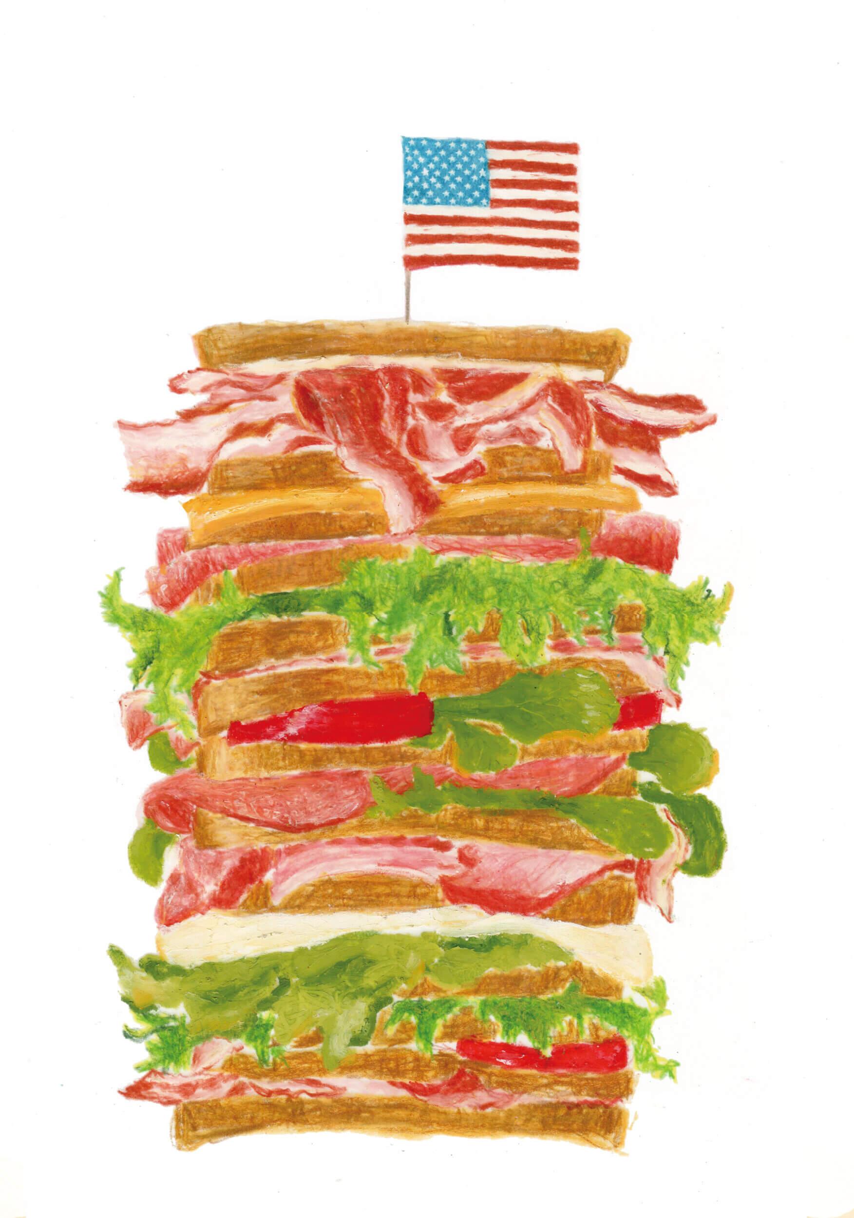 パンフレット 米国食肉輸出連合会 2013年「ハンバーガー」