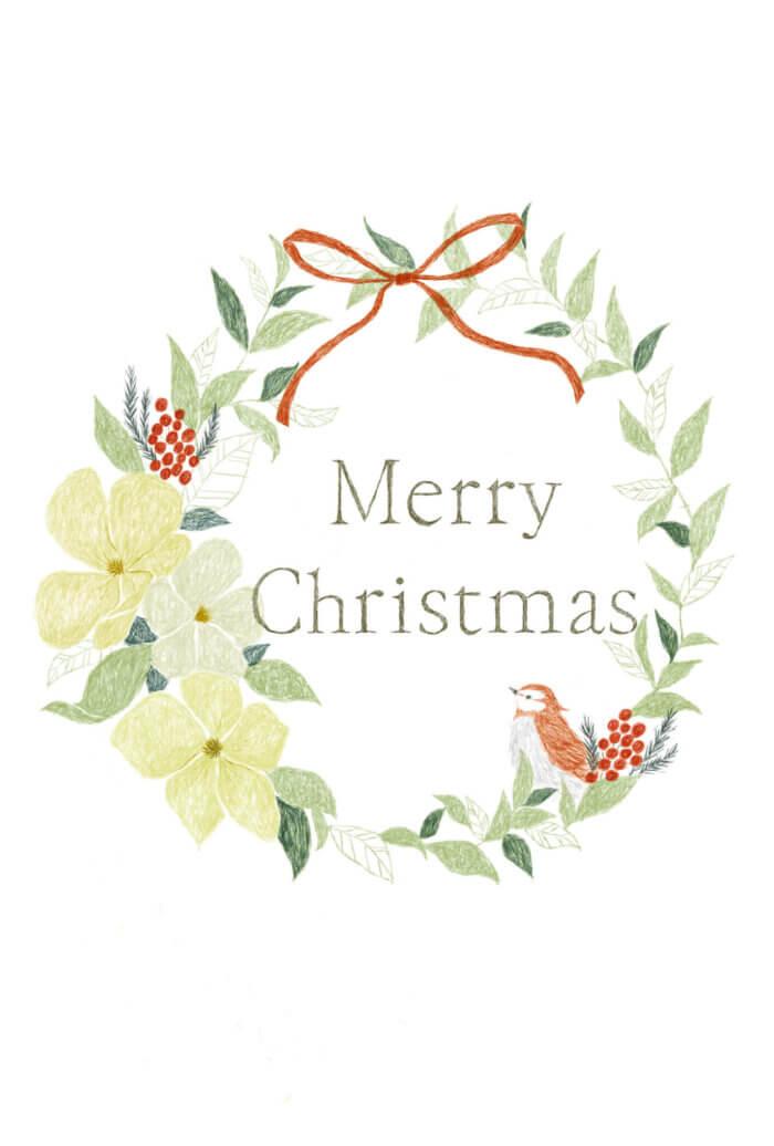 クリスマスカード GFP 2016年