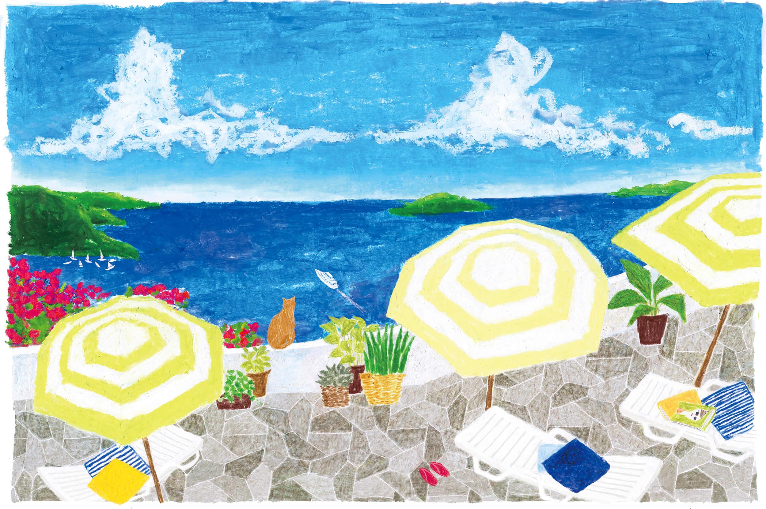 カレンダー エスビック2016年「リゾート 海」