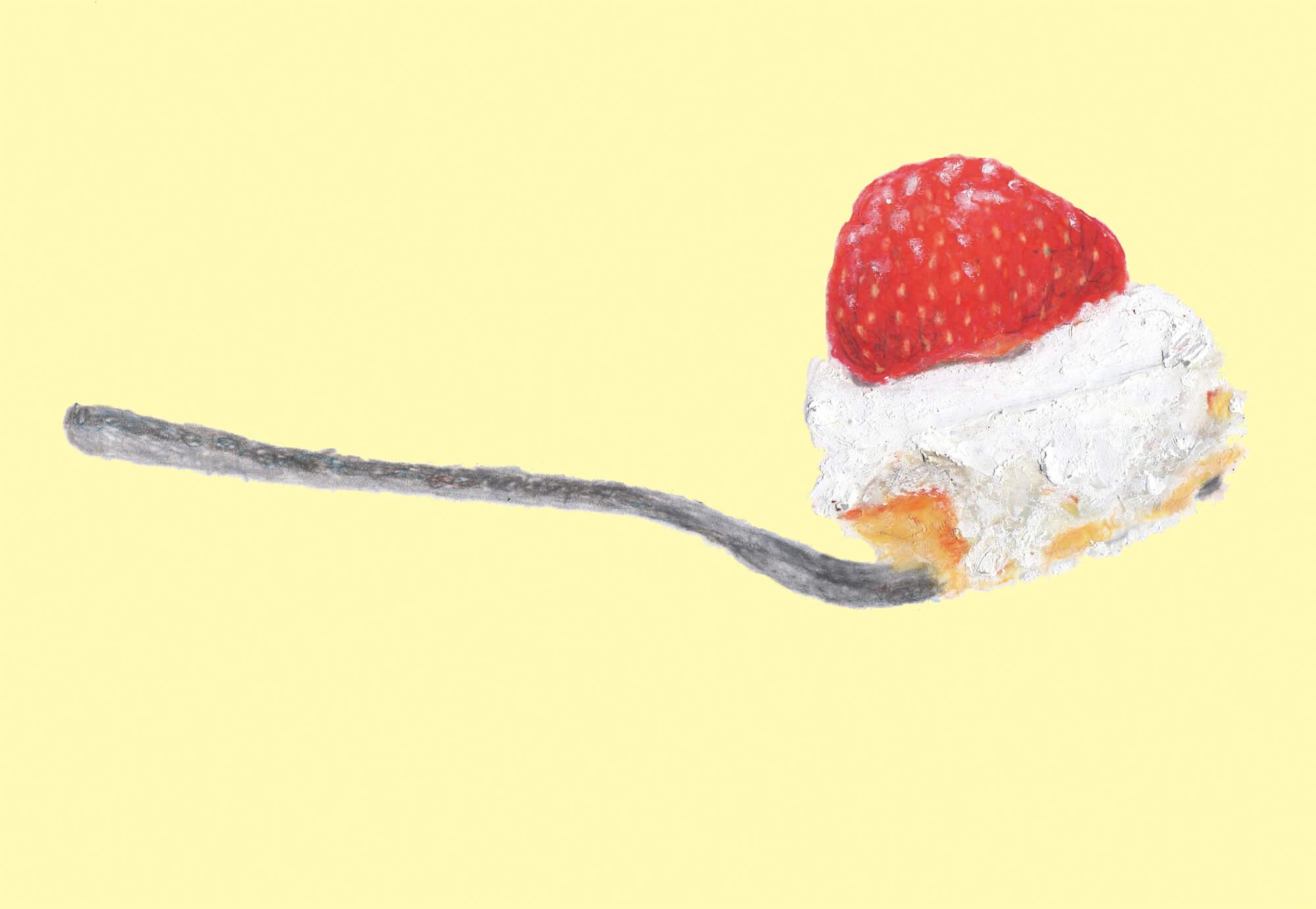 「まんぷく」ポスター NHK朝ドラ 2018年「フォークとショートケーキ」