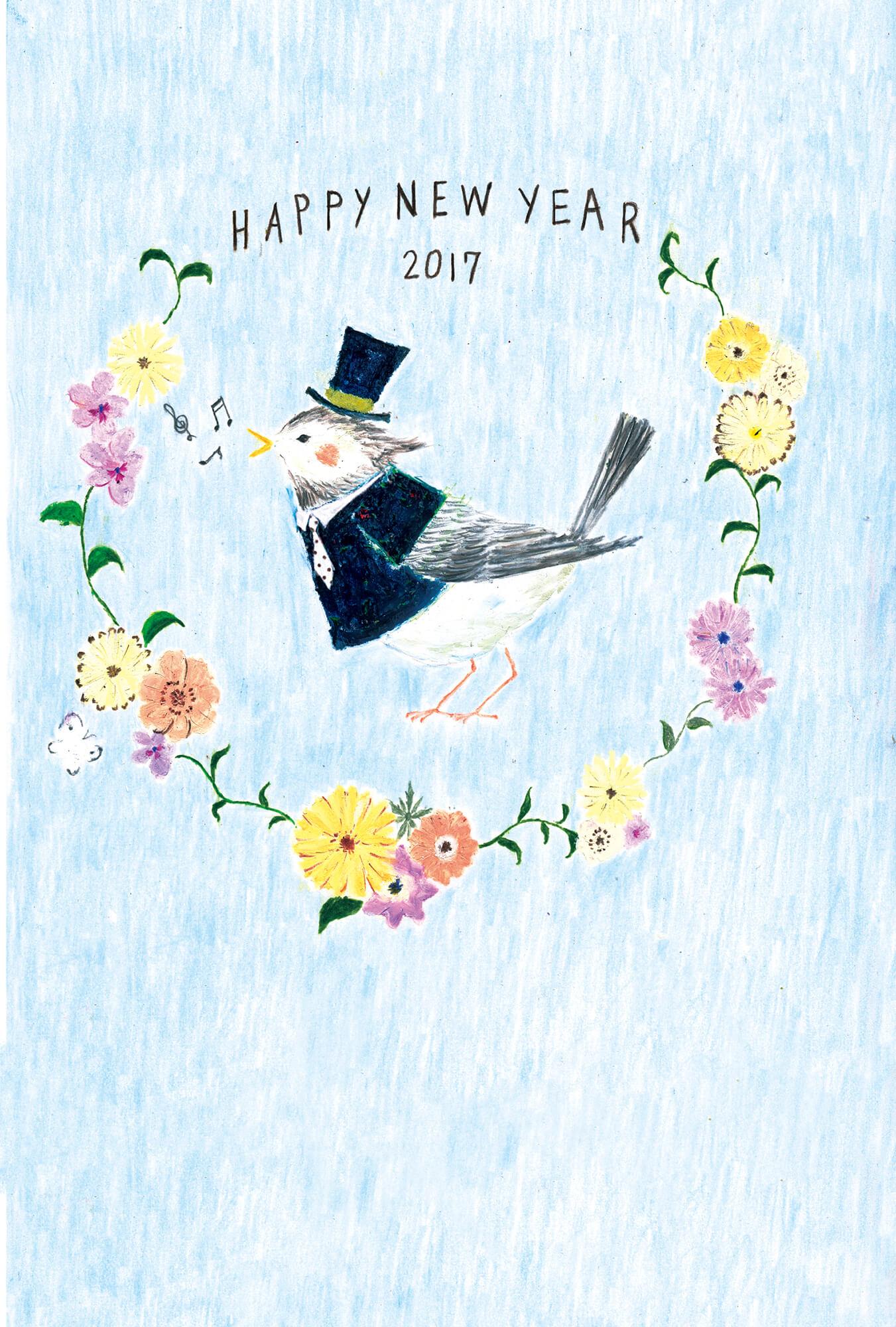 酉年年賀状 カードボックス2016年「鳥」