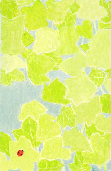 葉の上で 20110908