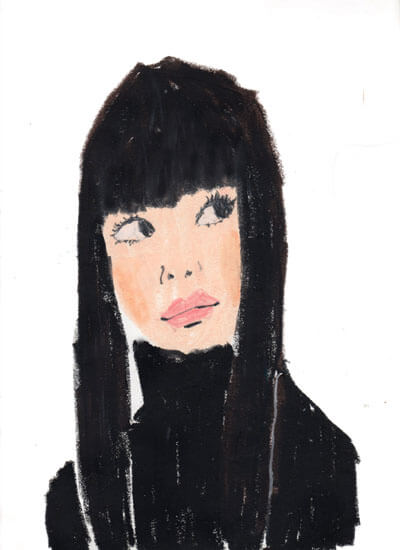 黒髪girl 20111020